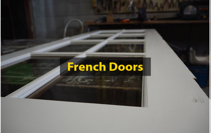 French Doors, Restored, Recovered, Preloved, Colonial, No. 8 Building Recyclers, Wellington