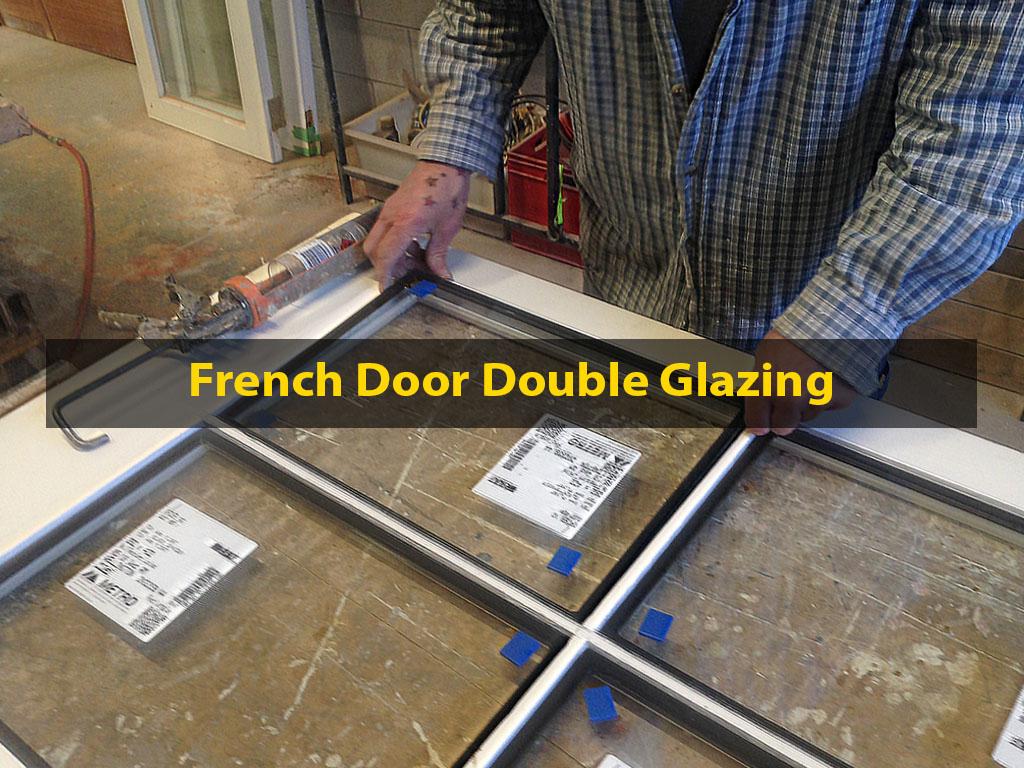 French Door Double Glazing, Double Glazing, French Door Reglazing, Retrofitting, No. 8 Building Recyclers, French Doors, Wellington