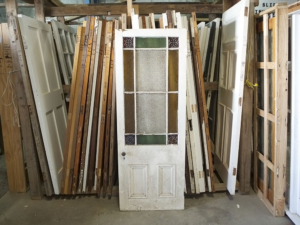 No. 8 Building Recyclers, Wellington, Door Restoration, Parlour Door.