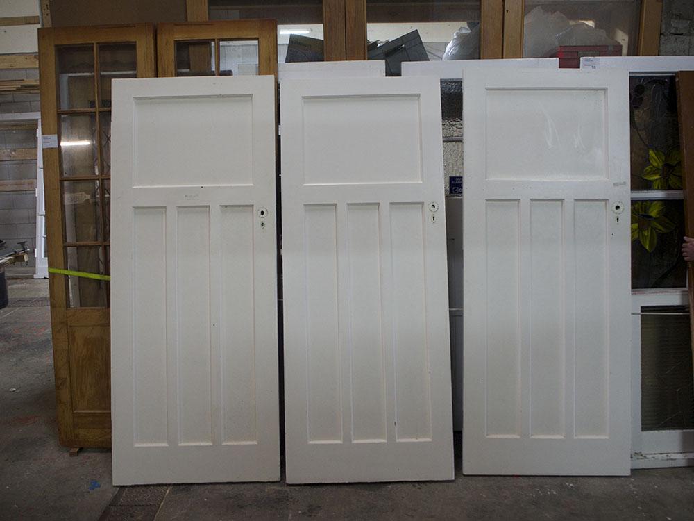 #229 Craftsman Door Restoration, No. 8 Building Recyclers, Wellington, Door Restoration