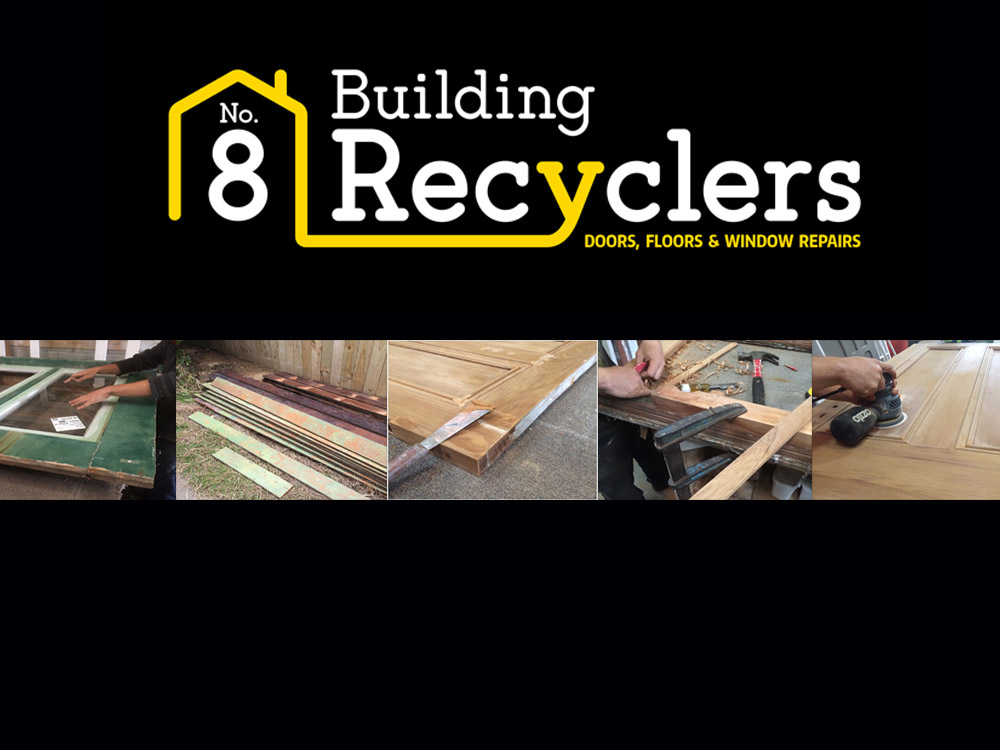 No. 8 Building Recyclers, Wellington, We Buy and Sell Doors, Floors, Windows, French Doors, Matai and Rimu Flooring, Tongue and Groove, Restored, Joinery, Recovered, Preloved, Colonial, French Doors